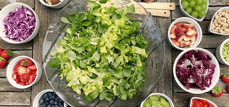 Какие салаты можно при диете 5