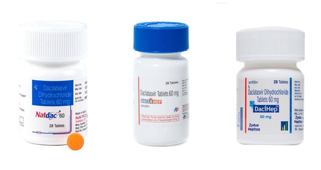 Лекарство от гепатита с ledipasvir