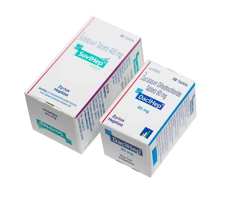 Лекарства для лечения гепатитов